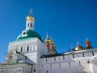 Domed church at Trinity Sergius Lavra in Sergiev Posad