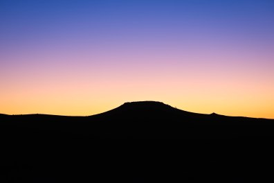 Sunset in the Namib Desert