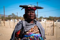 A Herero woman in native dress