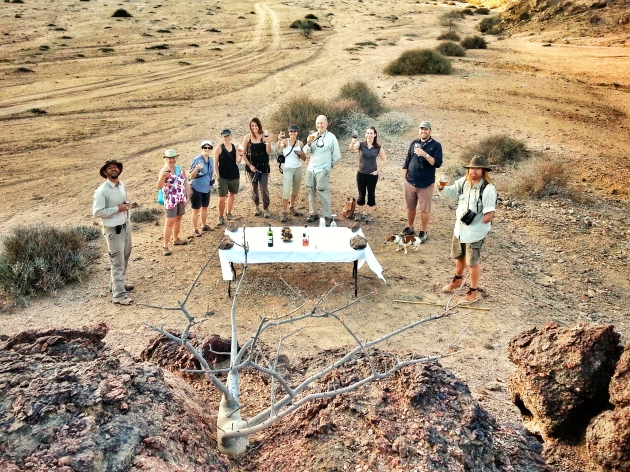 Celebrating my birthday at Hoanib Skeleton Coast, Namibia, Africa