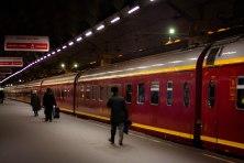 Overnight train to St. Petersburg