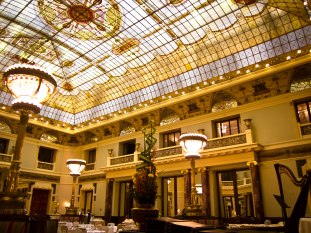 """""""Restaurant of Love"""" at the Metropol hotel, where Isadora Duncan was proposed to by her lover, the young poet Sergei Esenin"""