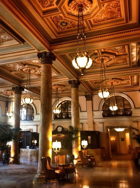 The Willard Hotel lobby c. 2013