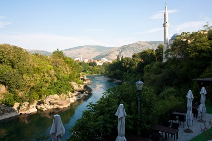Cafe in Mostar Bosnia