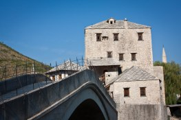 The old bridge of Mostar