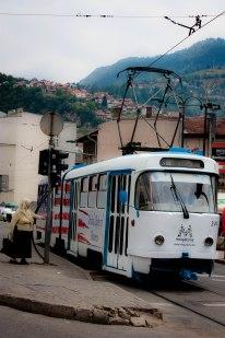 Bus in Sarajevo
