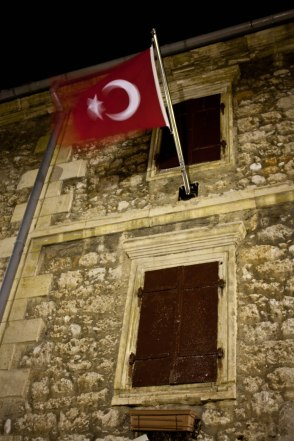 Turkish flag in Mostar