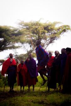 The Maasai in Lake Eyasi