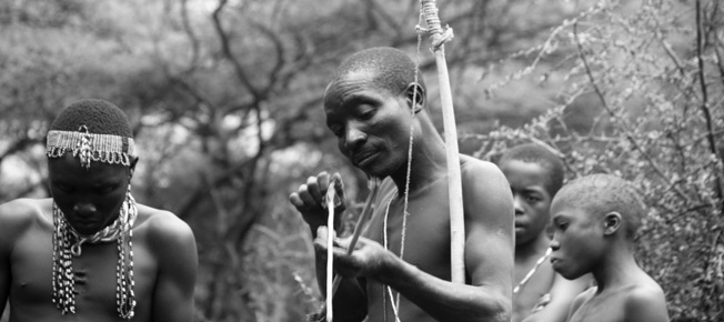 Hadza warriors of East Africa