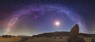 The Milky Way over Tenerife. Photo Credit & Copyright: Juan Carlos Casado via NASA APOD