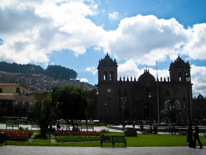 Ancient capitol city of the Inca, Cusco, Peru