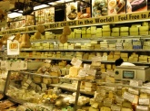 The cheese counter at Zabar's
