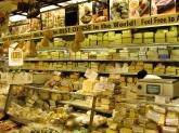 The cheese counter at Zabar's