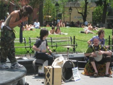 Afternoons in Washington Square Park