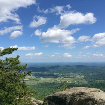 Hiking in Virginia's Shenandoah Valley