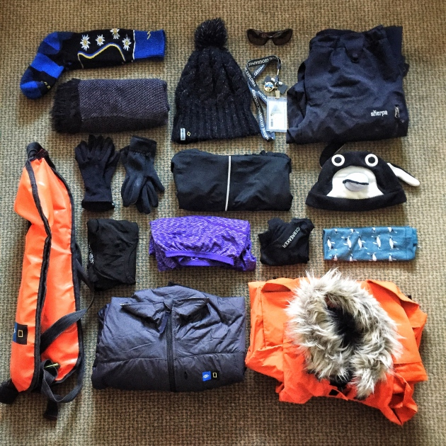 What to wear a polar expedition -- layers!