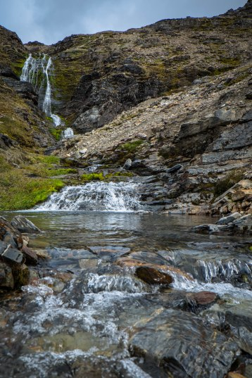 Shackleton's Waterfall at Stromness