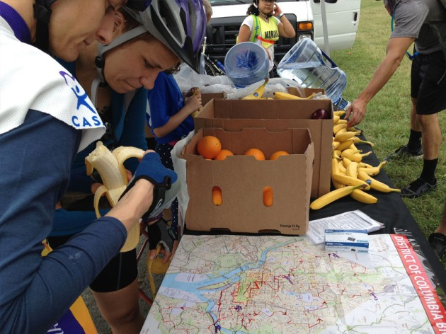 Grab some fruit and map your ride! Washington Area Bicyclist Association (WABA)