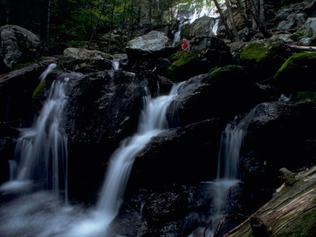Just 75 miles from the nation's capitol lives thousands of sites just like this waterfall, trickling through Virginia's Shenandoah Valley (Credit: Wikimedia Commons)