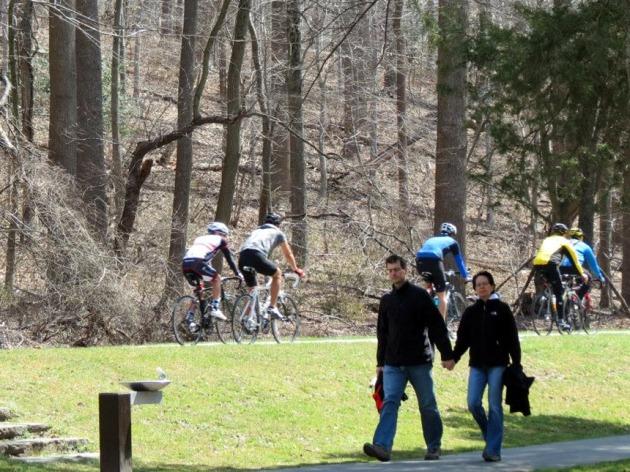 Stroll, bike, ride horseback or run at the ever-popular Rock Creek Park(Credit: National Park Service)