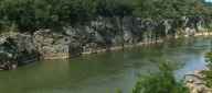 Billy Goat Trail overlooking the Potomac River