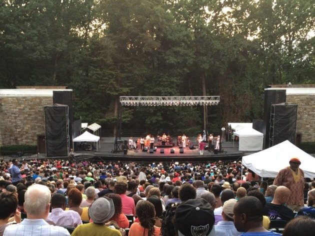 Outdoor blues concert at Rock Creek's famed amphitheater. (Credit: Rock Creek Park)