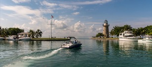 The Harbor at Boca Chita Key, Biscayne National Park's best-known area. | Credit: Jonathan Irish