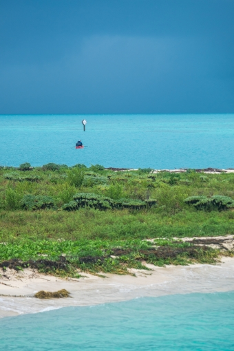 Kayakers take on Mother Nature in the Dry Tortugas.