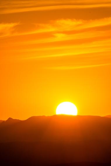 The falling sun in west Texas. Image credit: Jonathan Irish, taken with Fujifilm X-Series