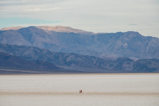 One of the greatest things about Badwater Basin: hikers get to blaze their own trail. Photo credit: Jonathan Irish